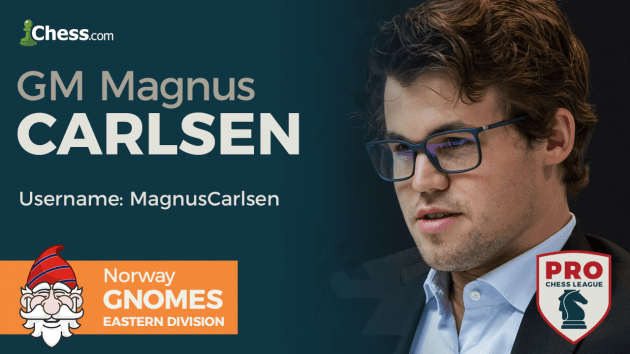 Carlsen, 5 Of World's Top 10 To Play In PRO Chess Super Weekend