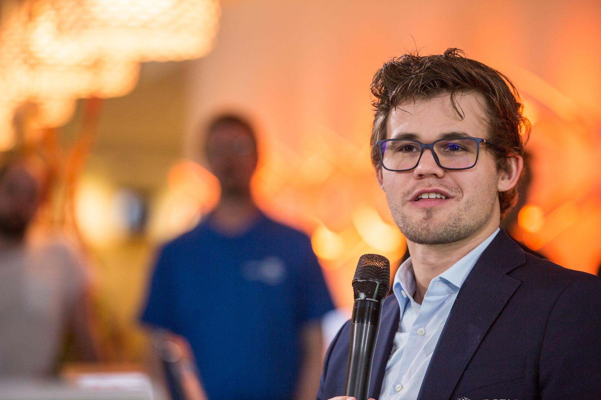 Chess games of Magnus Carlsen career statistics famous victories opening repertoire PGN download discussion and more