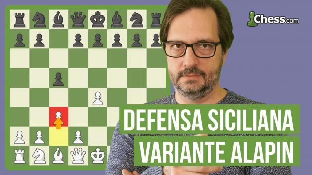 Defensa Siciliana Alapin | Aperturas de ajedrez en 15 min