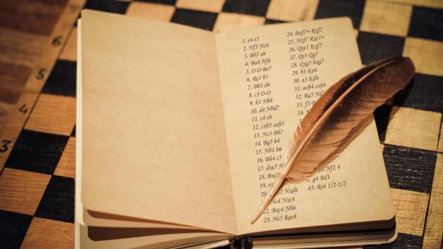 A játszmák lejegyzése - sakknyelven!
