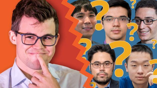 Así juegan los posibles retadores de Magnus Carlsen