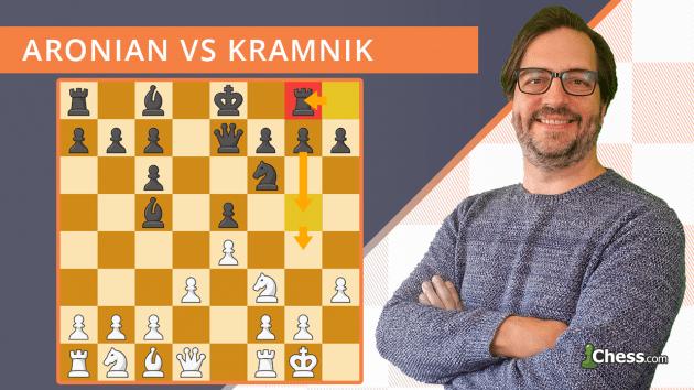 La partida de ajedrez que nunca olvidarás: Aronian - Kramnik