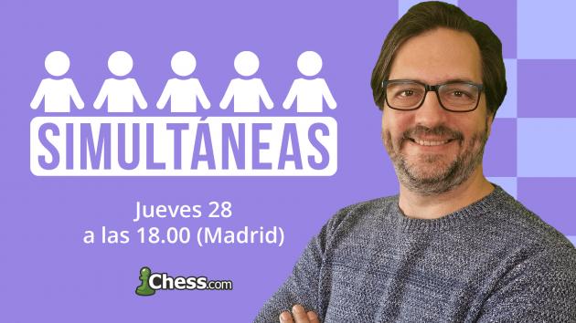 Cómo participar en las simultáneas de ajedrez con Luisón