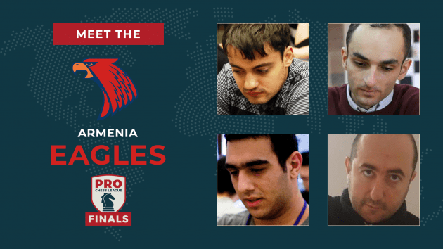 PRO Chess League Semifinals: Meet The Eagles!