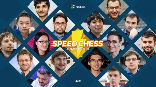 Información del torneo de ajedrez Speed Chess 2018