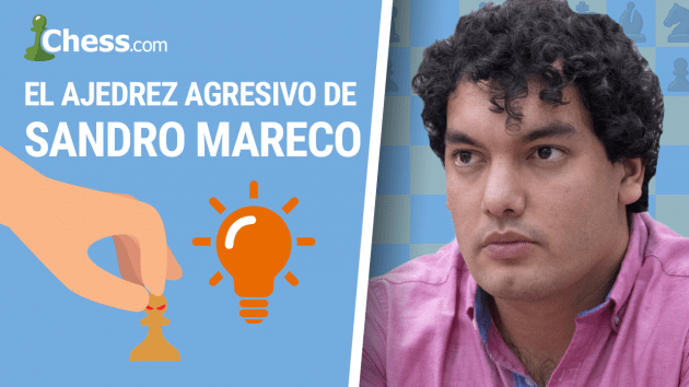 El ajedrez agresivo de Sandro Mareco