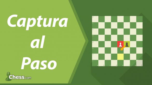Captura al paso | Movimientos especiales de ajedrez