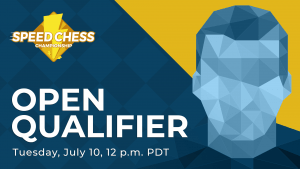 How To Watch Today's Speed Chess Championship Open Qualifer