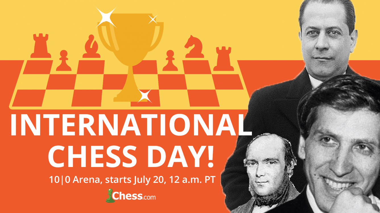 Play The 24-Hour International Chess Day Arena!