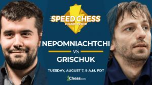 Comment regarder Nepomniachtchi contre Grischuk ce soir