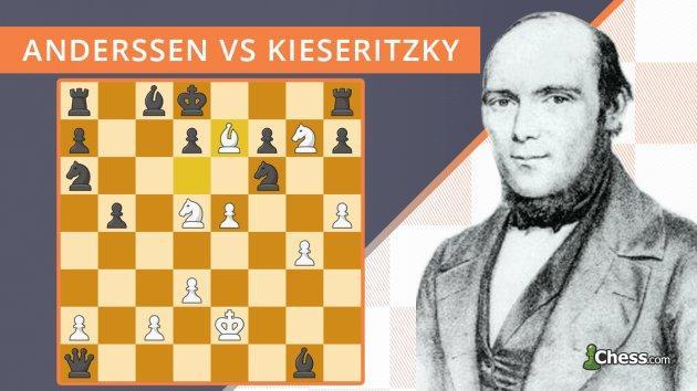 Nieśmiertelna partia | Anderssen - Kieseritzky (1851)