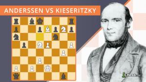 Die unsterbliche Partie   Anderssen gegen Kieseritzky (1851)