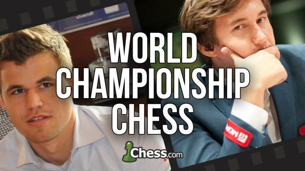 Campeonato Mundial de Ajedrez 2016   Carlsen vs Karjakin