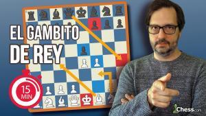 Gambito de Rey   Aperturas de ajedrez en 15 minutos