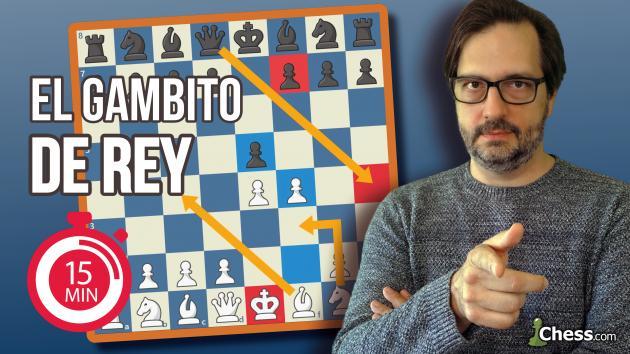 Gambito de Rey | Aperturas de ajedrez en 15 minutos