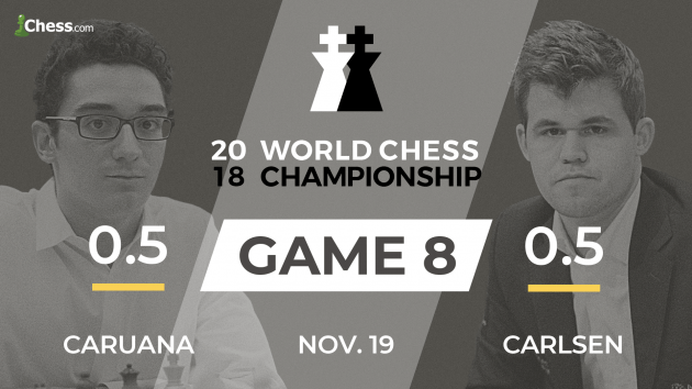 World Chess Championship 2018: Carlsen-Caruana