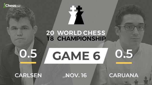 World Chess Championship 2018: Carlsen-Caruana