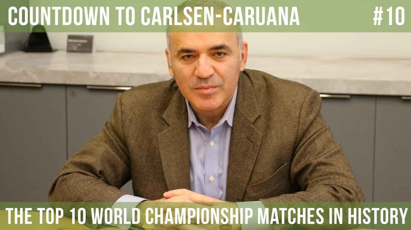 World Chess Championships: Kasparov-Karpov, Capablanca-Lasker, Alekhine-Capablanca
