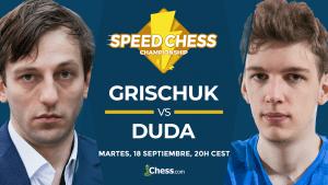 Speed Chess | Cómo ver hoy el match Grischuk vs. Duda