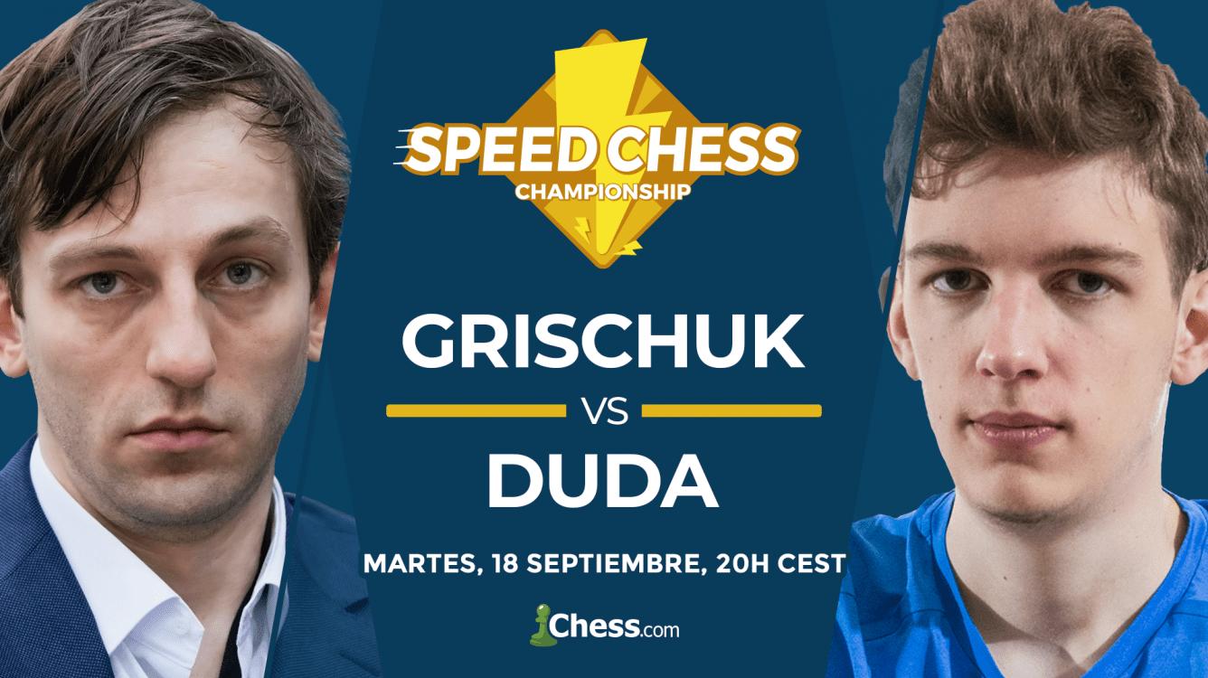 Speed Chess   Cómo ver hoy el match Grischuk vs. Duda