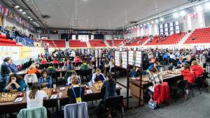 Schacholympiade 2018, Batumi, Tag 4