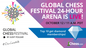 Play The Global Chess Festival Online's 24-Hour Arena