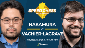 Speed Chess Championship: Can MVL Ride Nakamura's Red Bull?