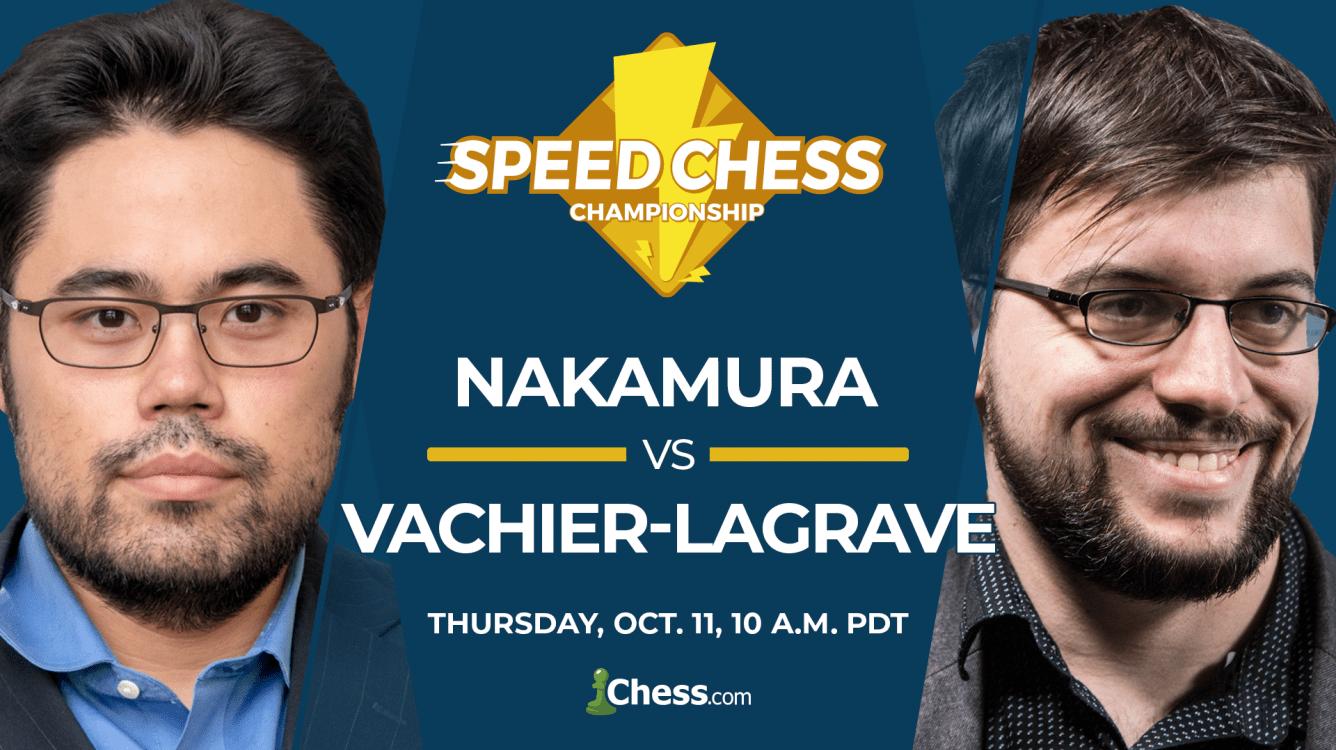 Speed Chess Championship: Can MVL Ride Nakamura's Red Bull?