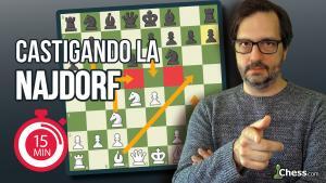 Castigando la Najdorf | Aperturas de ajedrez en 15 minutos