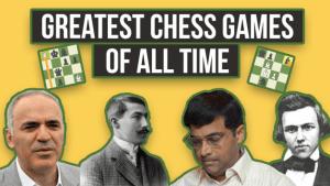 As Melhores Partidas de Xadrez de Todos os Tempos