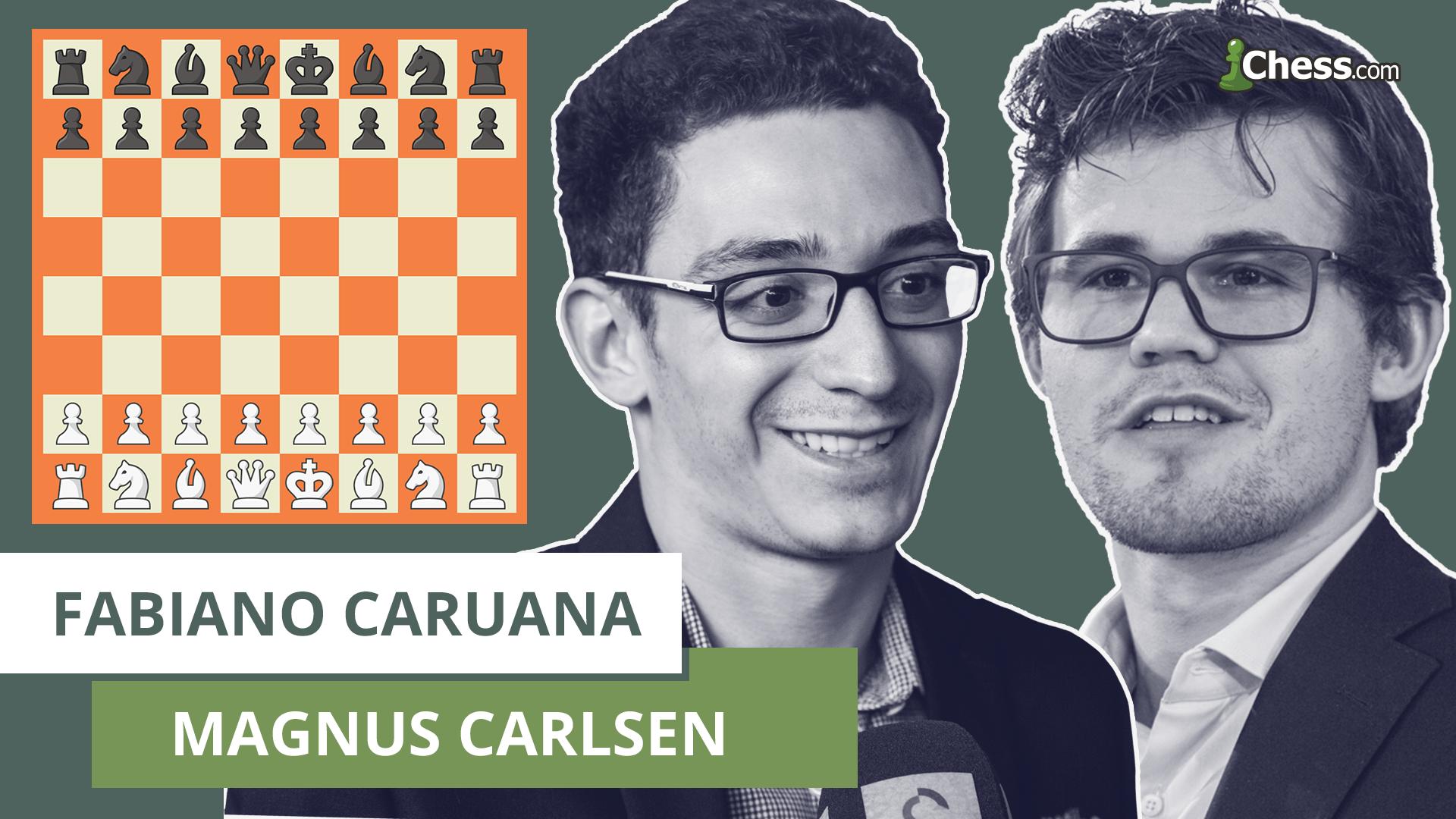 Resultado de imagen para Mundial de Ajedrez: Carlsen y Caruana