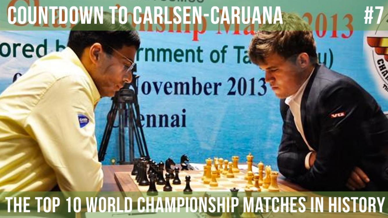 Carlsen vs. Anand | World Chess Championship 2013