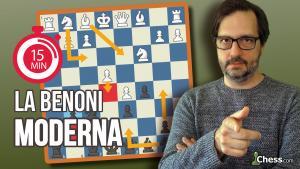 Defensa Benoni Moderna | Aperturas de ajedrez en 15 min