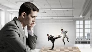 E se Carlsen e Caruana Fossem Lutadores de Artes Marciais?