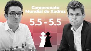 Campeonato Mundial de Xadrez 2018: Carlsen-Caruana