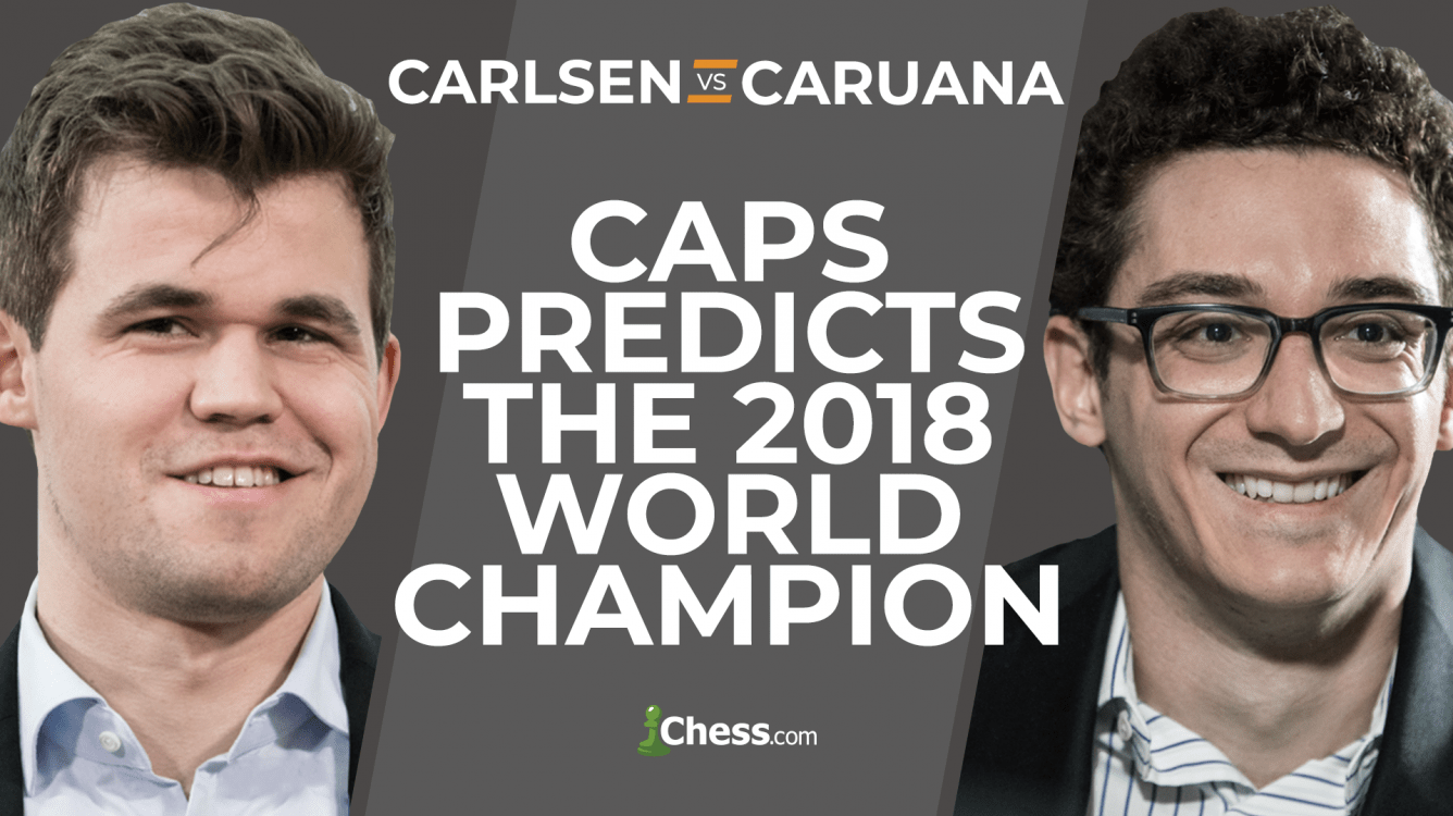 Carlsen vs Caruana: CAPS Predicts The 2018 World Chess Championship