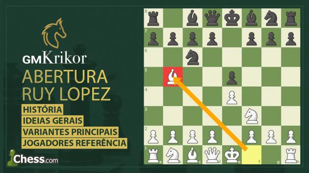 Aprenda a Ruy Lopez!