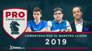 PRO Chess League 2019: Información oficial