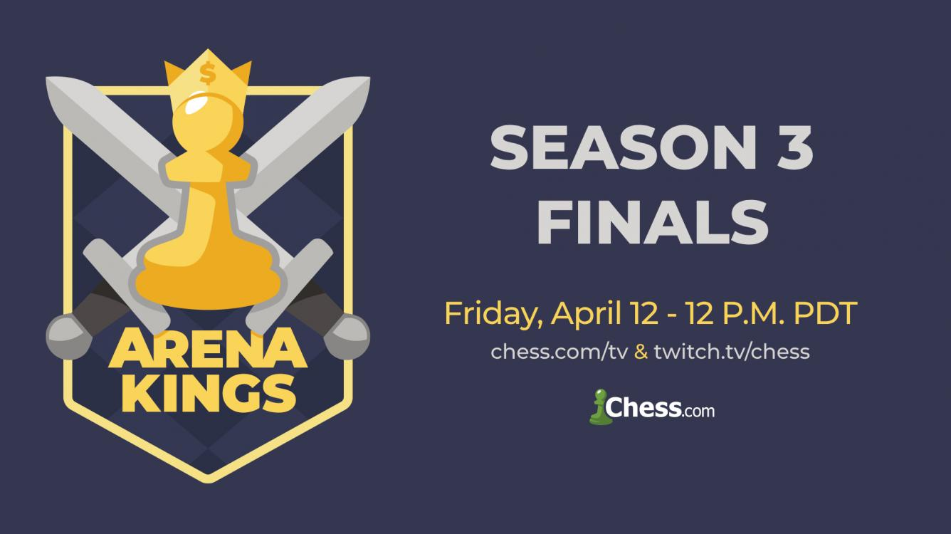 Nakamura wins Arena Kings Season 3