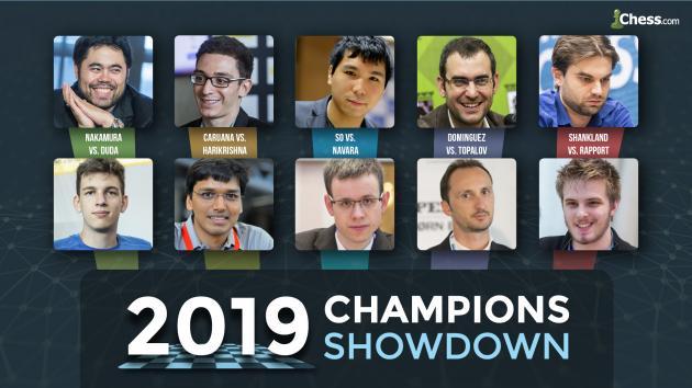Champions Showdown en directo y en español