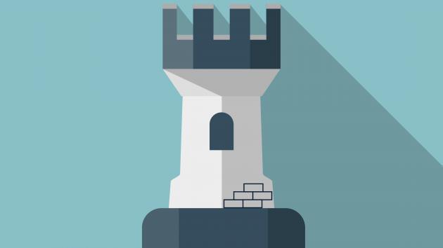 Как построить крепость на доске