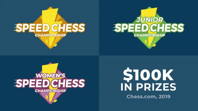 Série dos 2019 Speed Chess Championship | Informação Oficial