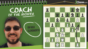 Coach Of The Month: GM Max Illingworth