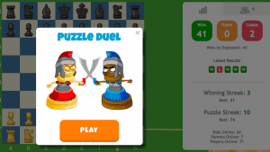 ChessKid's Newest Feature: Puzzle Duel!