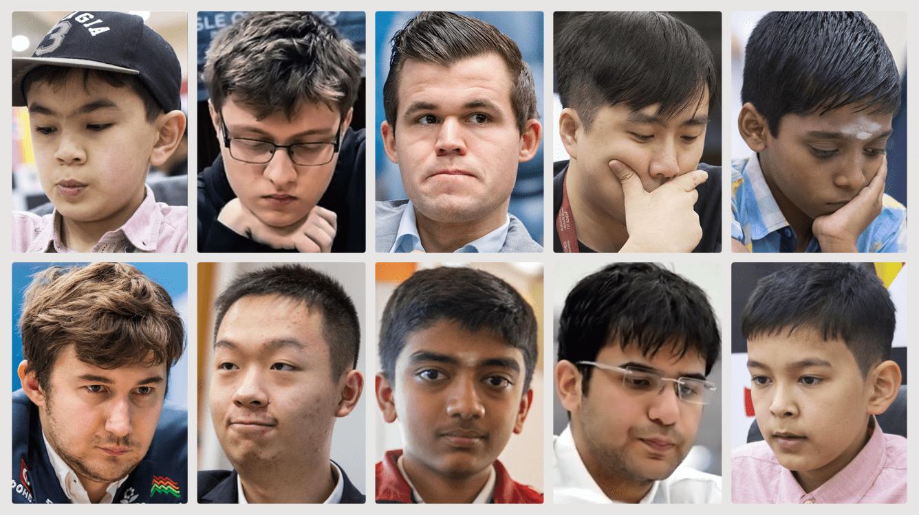 Los Grandes Maestros de ajedrez más jóvenes de la historia