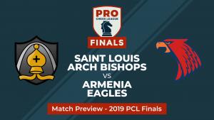 PRO Chess League Semifinals: Saint Louis Arch Bishops vs. Armenia Eagles