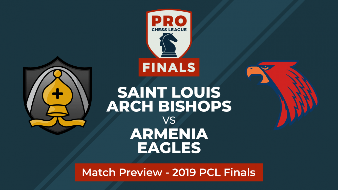 PRO Chess League Semifinals: Saint Louis Arch Bishops vs. Armenia Eagles