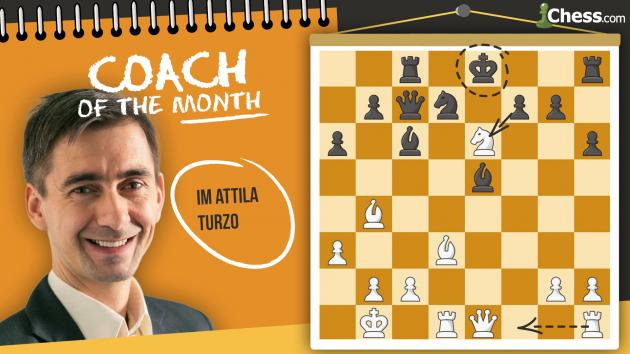 Coach Of The Month: IM Attila Turzo
