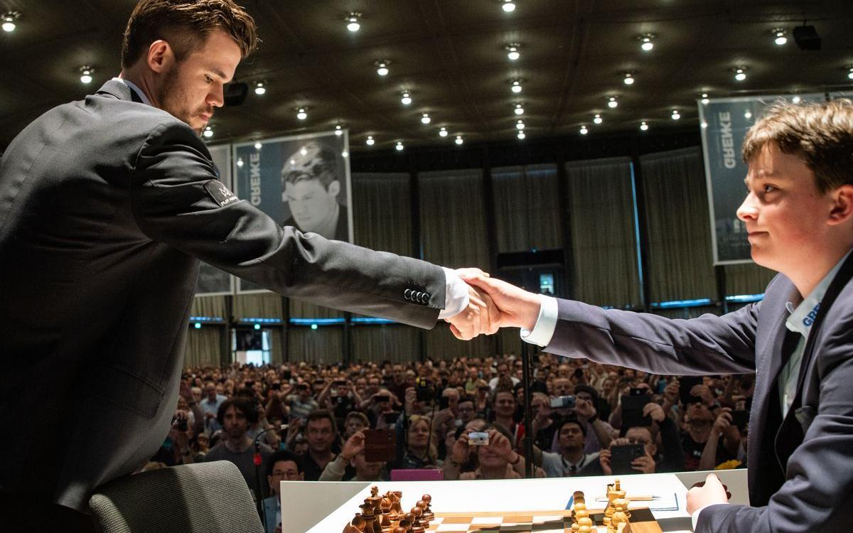 The Chess Prodigy vs Magnus Carlsen