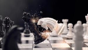 Das schönste am Schach ist eine Königsjagd